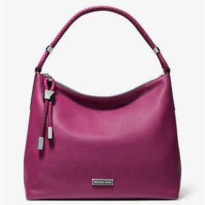 Michael Kors Large Lexington Leather Shoulder Bag